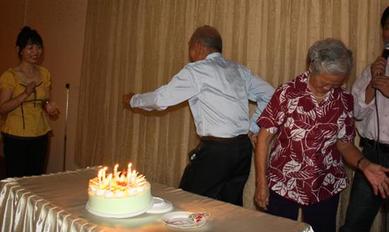 Grandpa gets HIGH